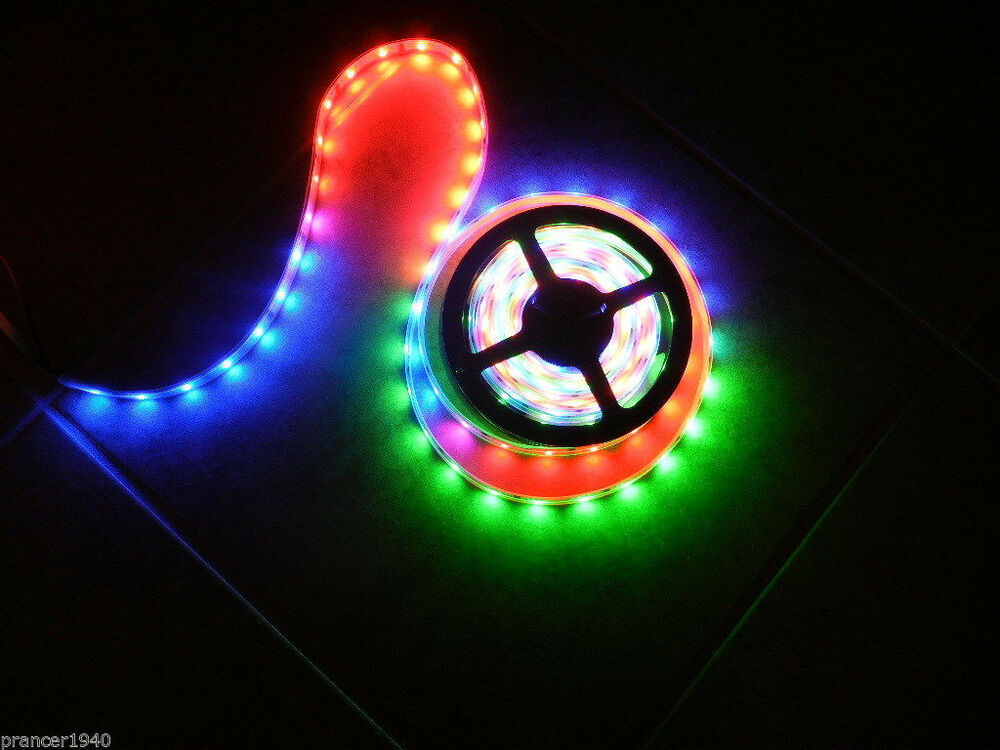 20 roll 12v led crazy lights system tape rope lighting chasing 328. Black Bedroom Furniture Sets. Home Design Ideas