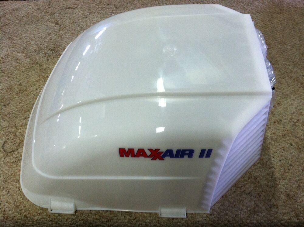 Rv Camper Maxxair Ii Vent Cover Translucent White Maxx