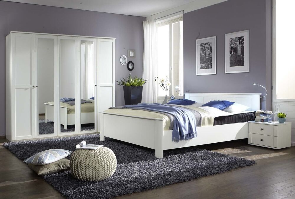 Qmax 39 country 39 range german made bedroom furniture white shaker inspired style ebay for White shaker bedroom furniture