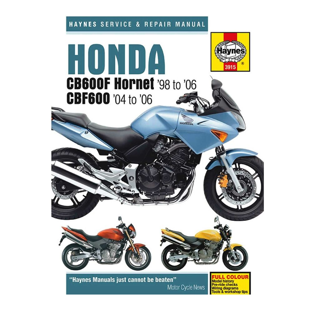haynes workshop manual   guide book for honda cb600f hornet workshop manual honda c90 workshop manual honda c90