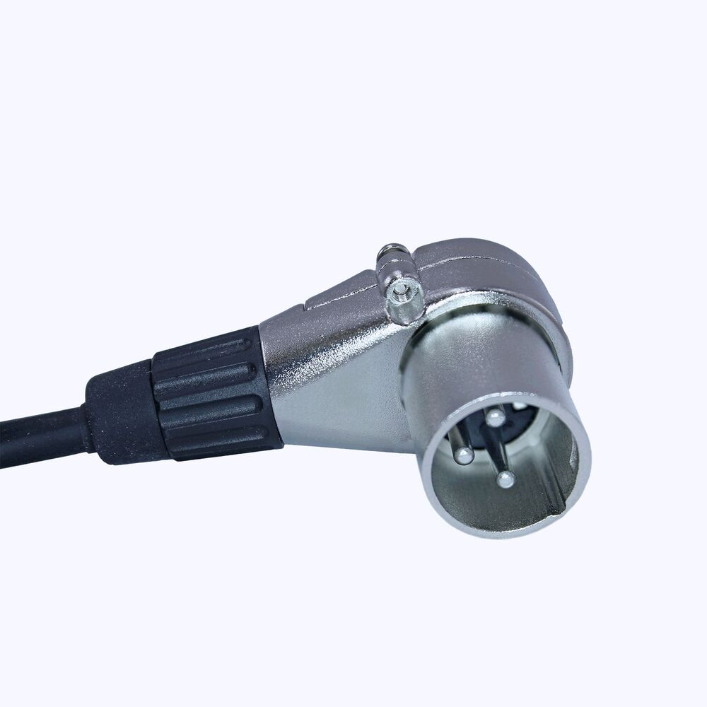 Clockable Right Angle Adjustable Male Xlr Connector Plug 7