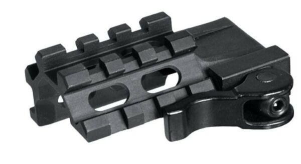 Leapers QD Quad-Rail 3 Slot Angle Mount for Weaver Picatinny bases MAQ032263