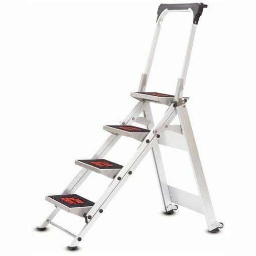 4 Step Little Giant Safety Step Ladder Jumbo 10410ba In