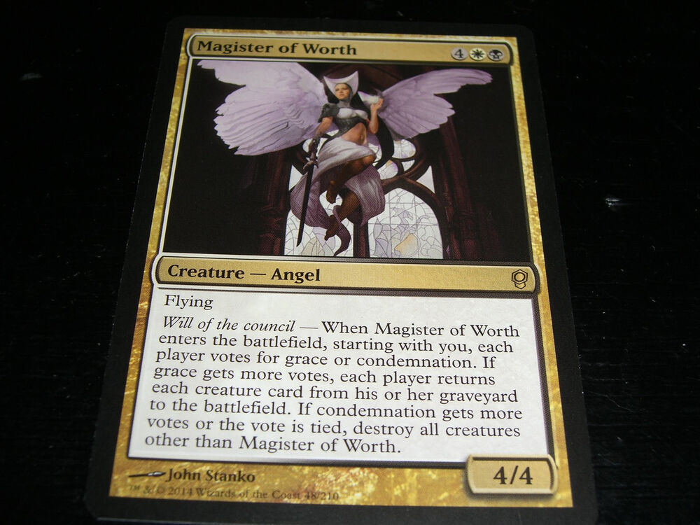 Magic the Gathering: Conspiracy - Magister of Worth Rare ...