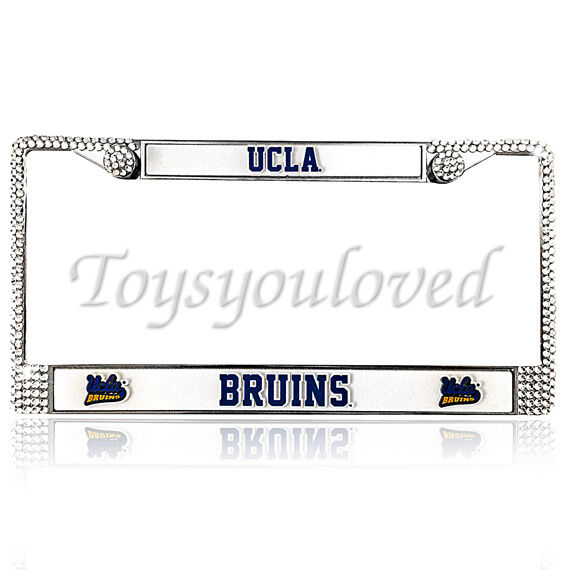 bling license plate frame ucla