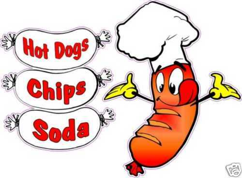 Hotdog And Chips Clipart Hot Dogs Combo Chips S...