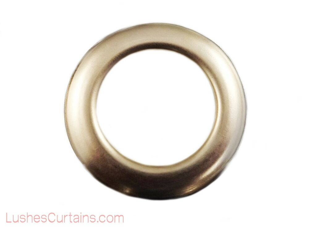 Curtain Drapery Nickel Metal Grommets Eyelets 12 Inner Diameter 1 9 16 Pack Of Ebay