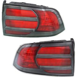 2004-2008 Acura TL Type-S Style Tail Lights Lamps Replacement Left+Right 04-08