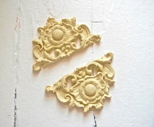 Furniture Architectural Appliques Corners Wood Resin Stainable Paintable New Ebay