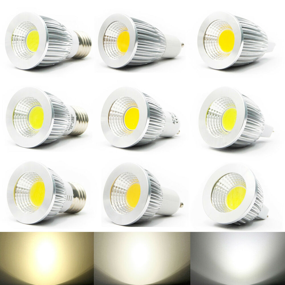 ultra bright mr16 gu10 e27 dimmable led cob spot down light lamp bulb ymz club ebay. Black Bedroom Furniture Sets. Home Design Ideas