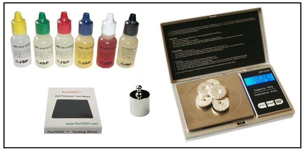 Best Electronic Tester Jewelry : Gold testing acid tester jewelry kit stone electronic