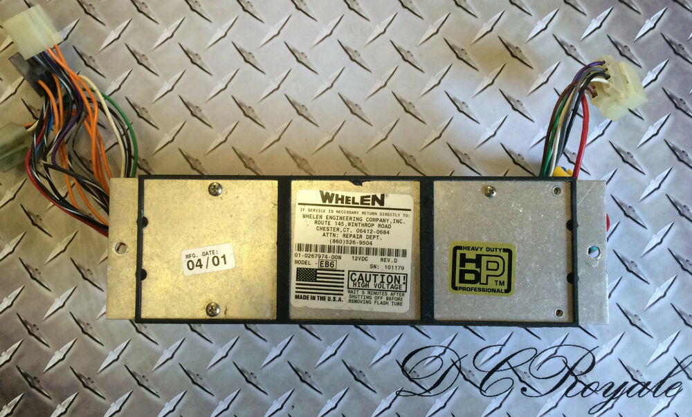 whelen edge 9000 light bar eb6 strobe 6 head power supply tested ebaydetails about whelen edge 9000 light bar eb6 strobe 6 head power supply tested