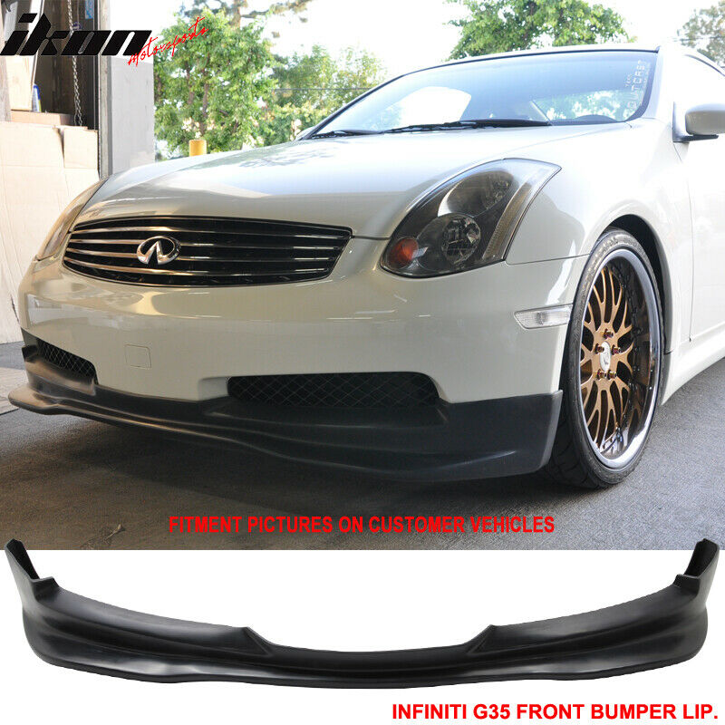 1993 Infiniti G Exterior: 03-07 Fit For Infiniti G35 Coupe 2Dr GT Style PU Front