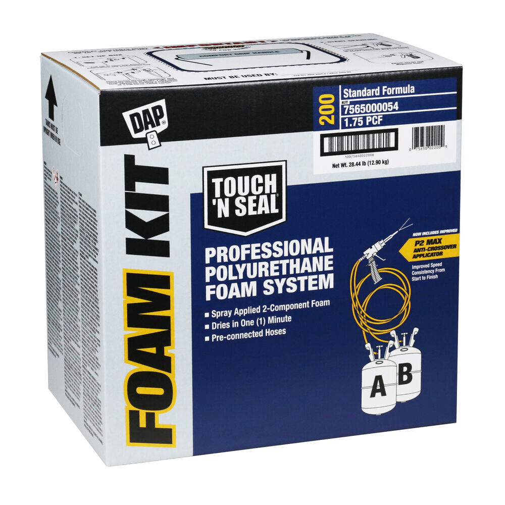 Touch N Seal U2 200 Spray Closed Cell Foam Insulation Kit