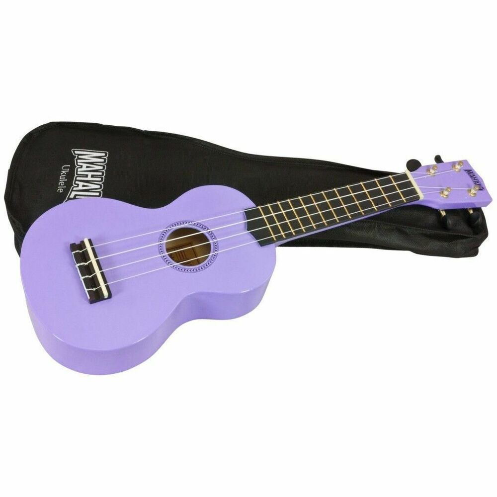 mahalo soprano ukulele uke purple free case free delivery uk seller ebay. Black Bedroom Furniture Sets. Home Design Ideas