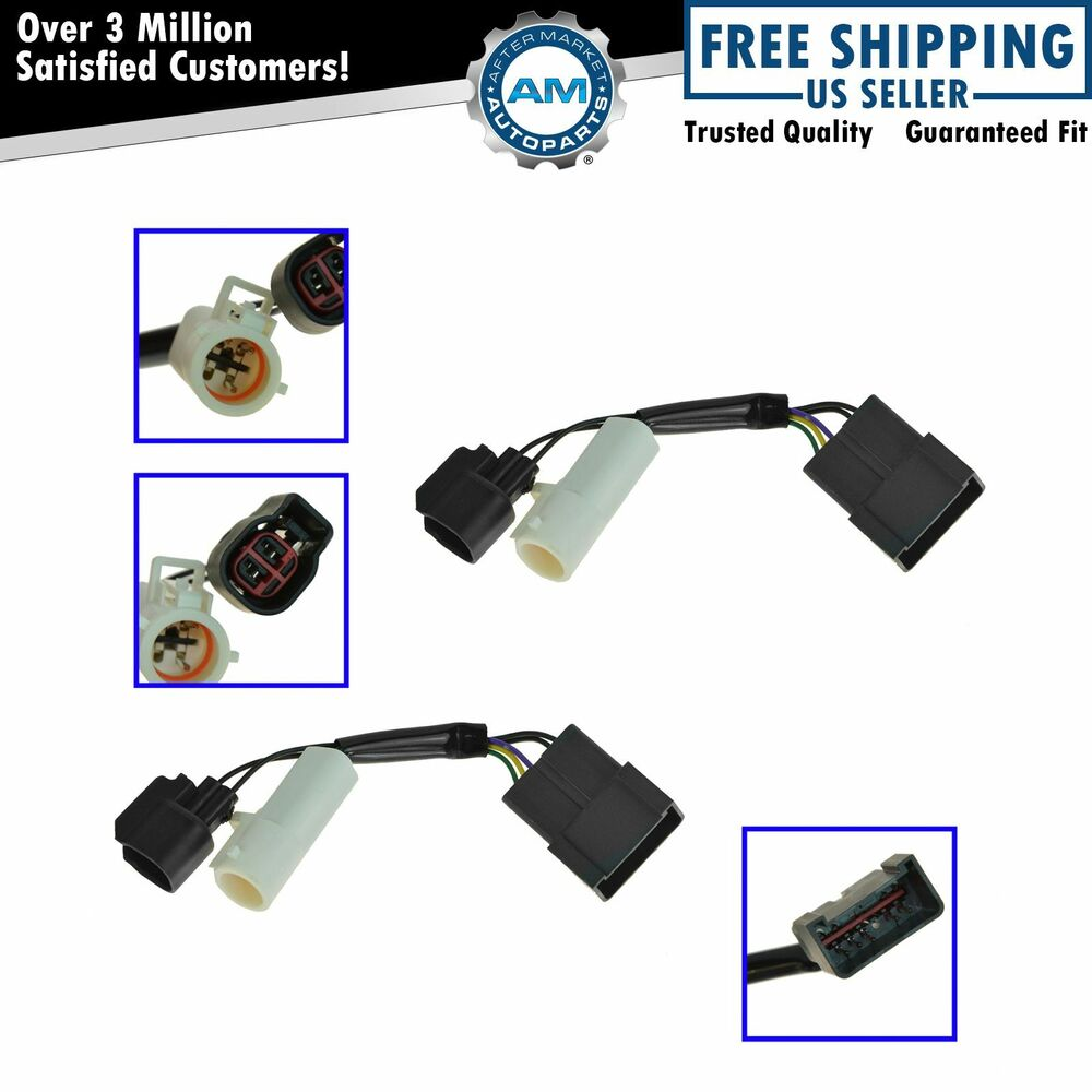 Mirrors Power Heated Upgrade Harness Adapter Lh Rh Pair