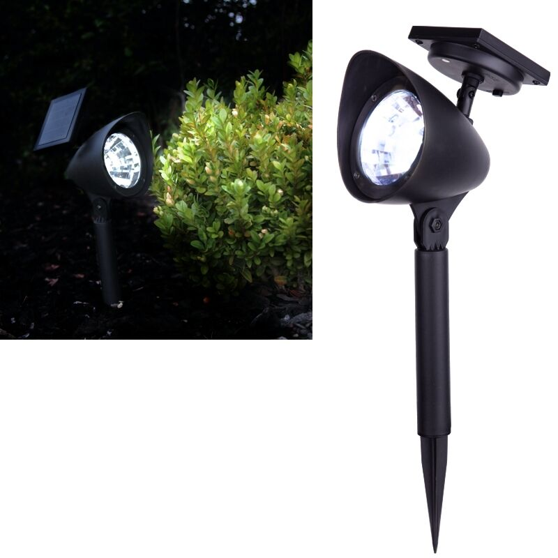 led solar strahler spotlight ls 1 solar leuchte lampe gartenstrahler spot ebay. Black Bedroom Furniture Sets. Home Design Ideas