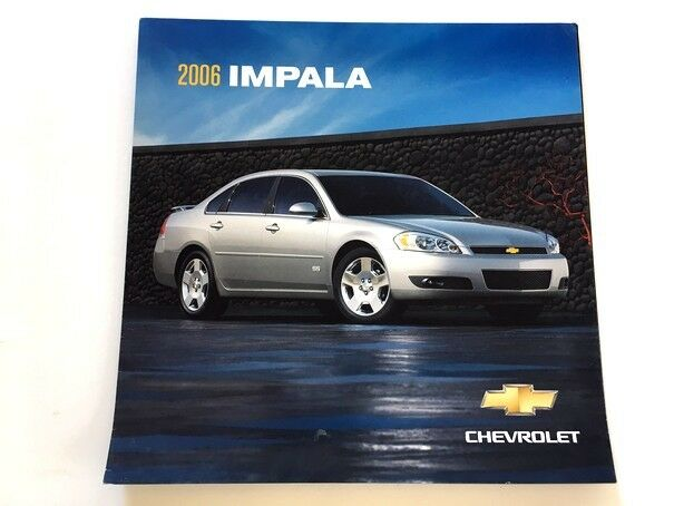 2006 chevrolet impala and ss canada car sales brochure. Black Bedroom Furniture Sets. Home Design Ideas