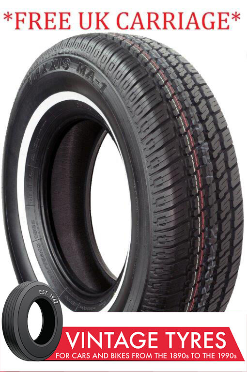 155 80r13 155r13 maxxis whitewall tyre 155 80 13 mg midget. Black Bedroom Furniture Sets. Home Design Ideas