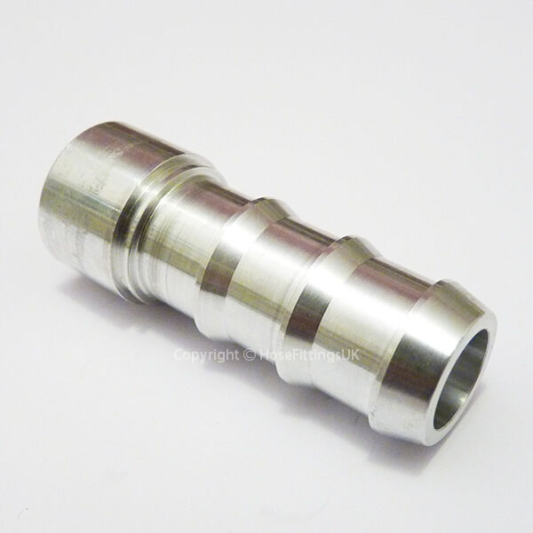 Quot mm aluminium weld on barb tail hose fitting adapter