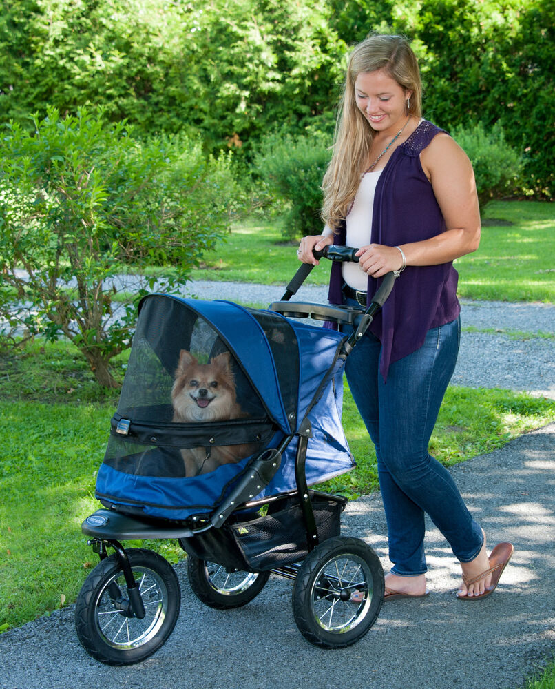 NEW! Pet Gear Jogger NO-ZIP Dog / Cat Stroller with Easy ...