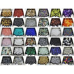 Kyпить Natural Gemstone Round Spacer Loose Beads 4mm 6mm 8mm 10mm 12mm Assorted Stones на еВаy.соm