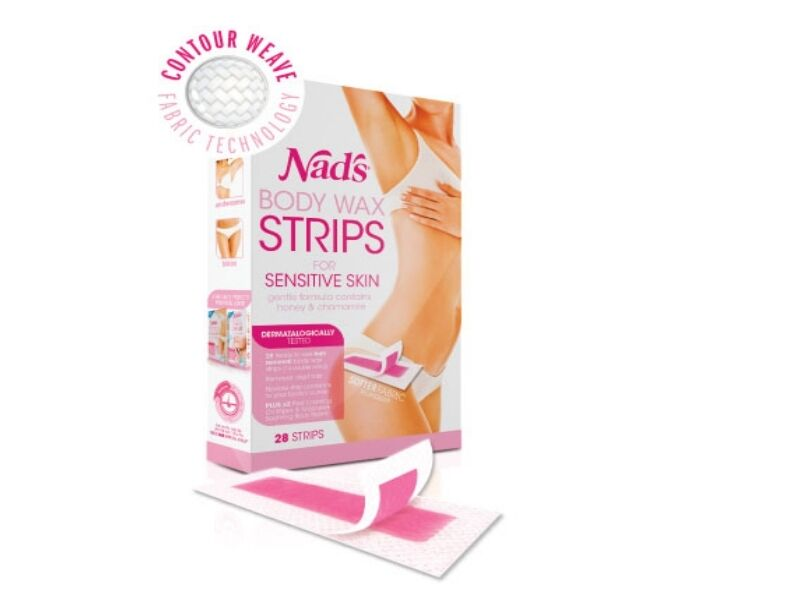 Nads hair removal strips