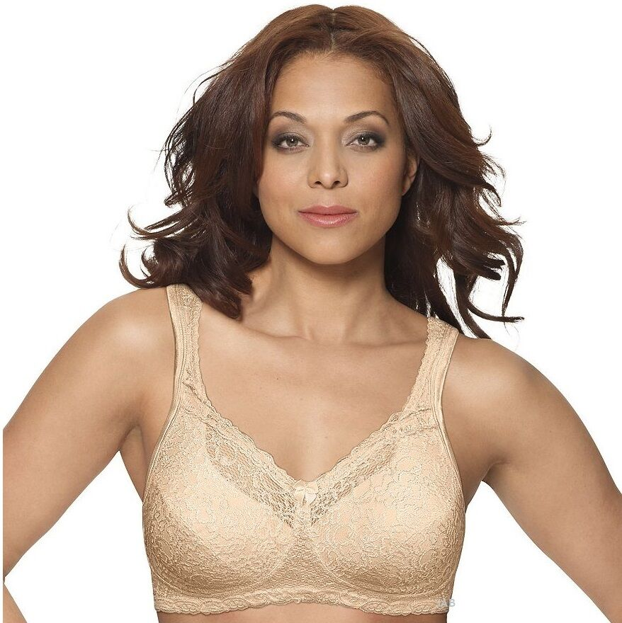 3 Pack Playtex 18 Hour Airform Lace Wirefree Bras Style