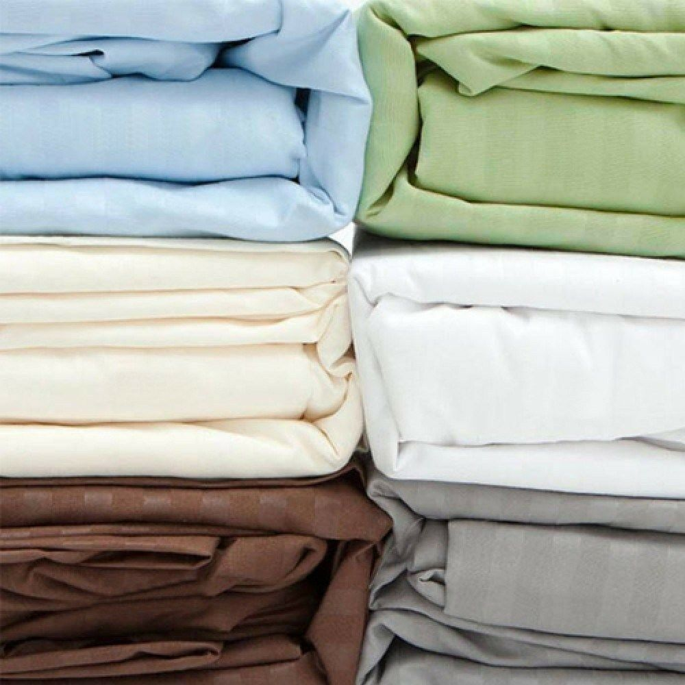 Fine Deluxe 300 Thread Count 100% Cotton Bed Sheet Set ...