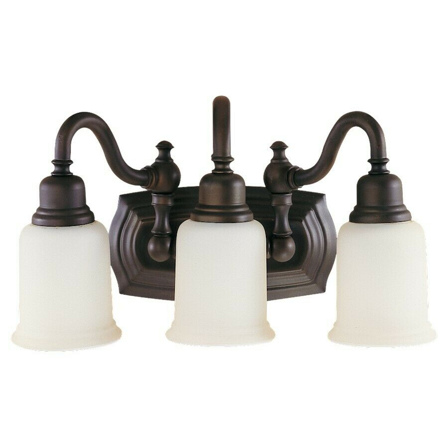 Feiss Canterbury 3 Light Vanity Fixture Oil Rubbed Bronze Vs8003 Orb Ebay