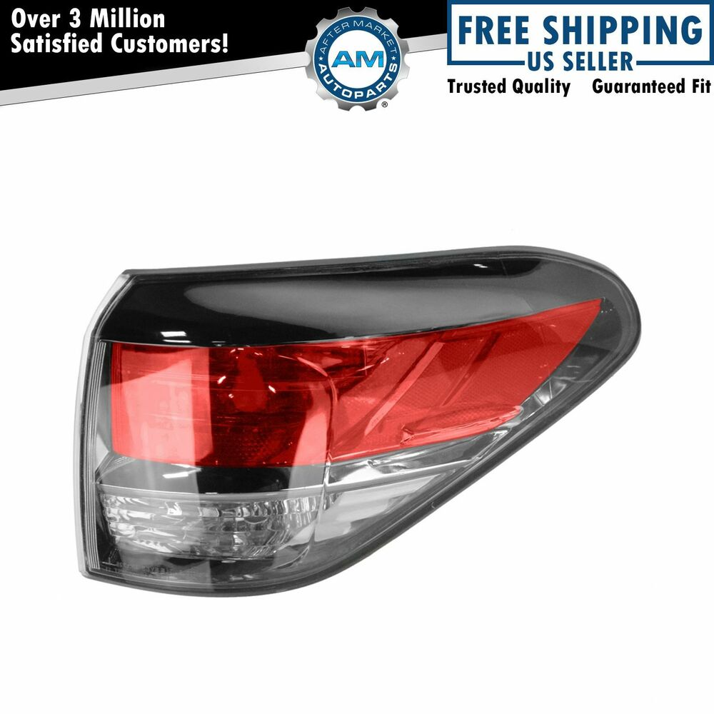 tail light taillamp outer right passenger side for 13 14. Black Bedroom Furniture Sets. Home Design Ideas