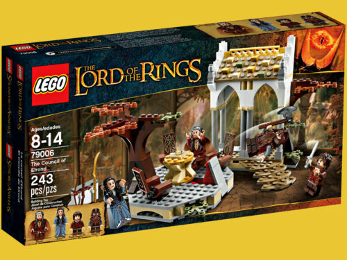 LEGO 79006 Lord of the Rings Hobbit Council of Elrond MIB Factory Sealed Retired