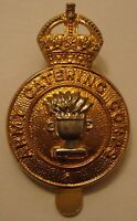 Army Catering Corps Cap Badge, British Army, GV1R, George, ACC, Military, New