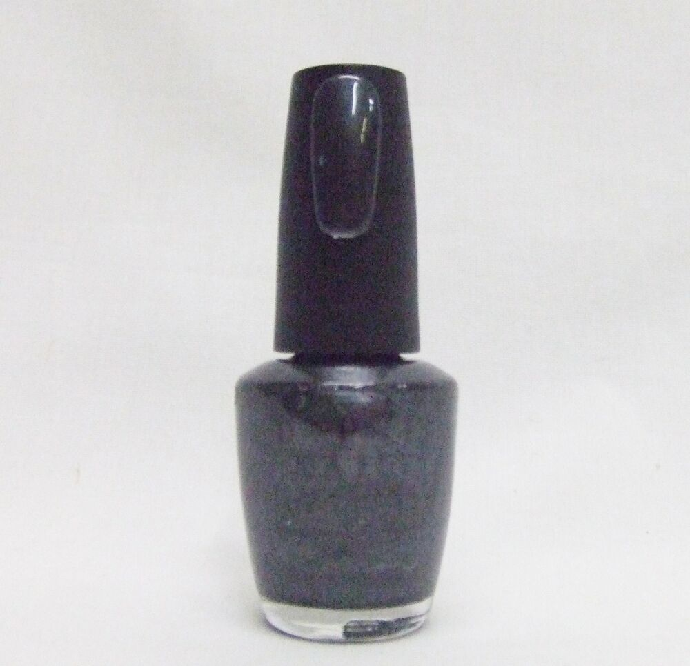 Black Nail Polish Ebay: OPI Nail Polish Color Black Satin T03 Discontinued .5oz