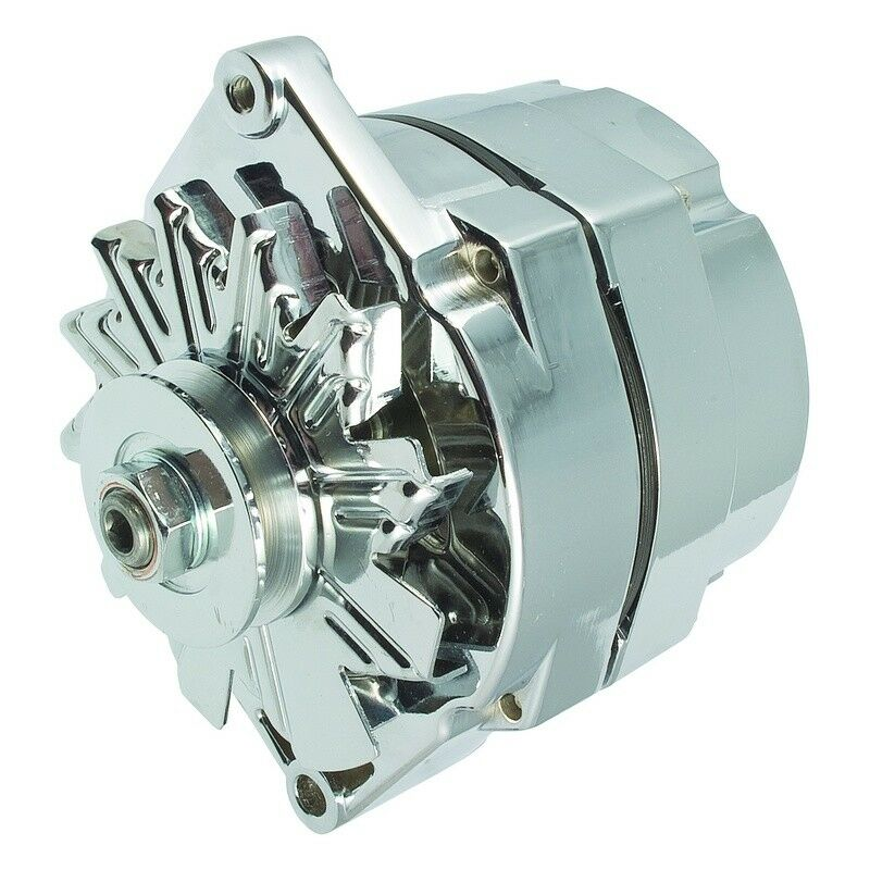 100  New Premium Quality Alternator 100 Amp Gm Chrome 1