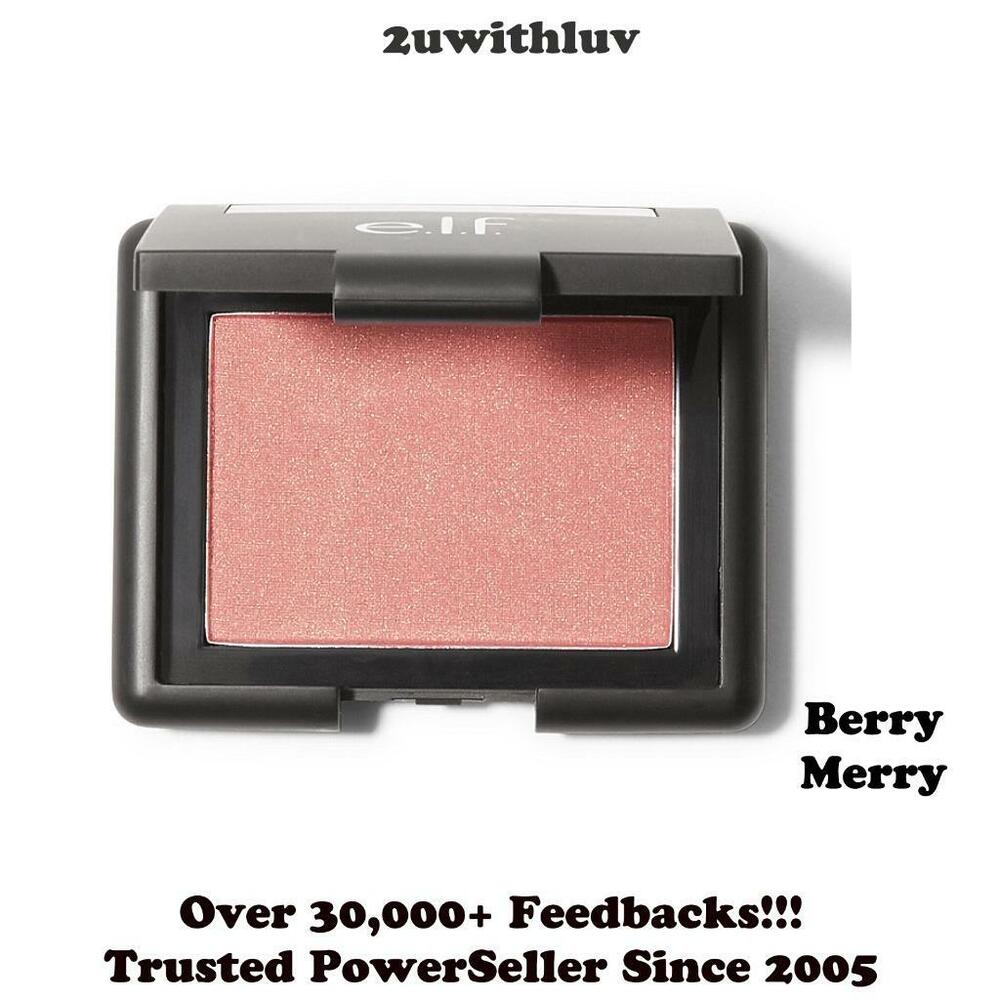 E.L.F. COSMETICS ELF STUDIO BLUSH MELLOW MAUVE 4.75G