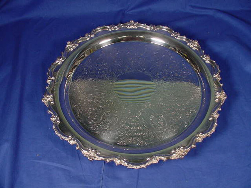 how to clean silver trays