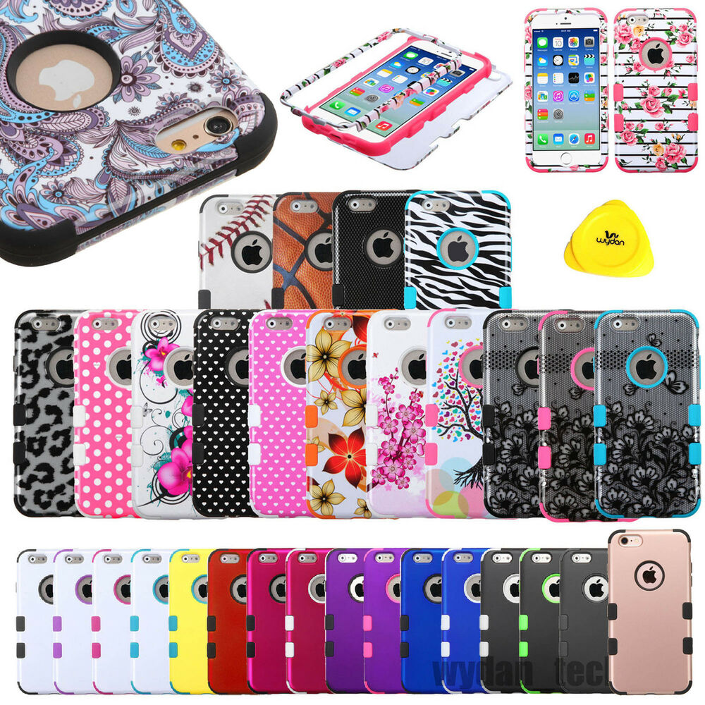 cases for iphone 6 plus rugged hybrid shockproof impact cover for iphone 1345