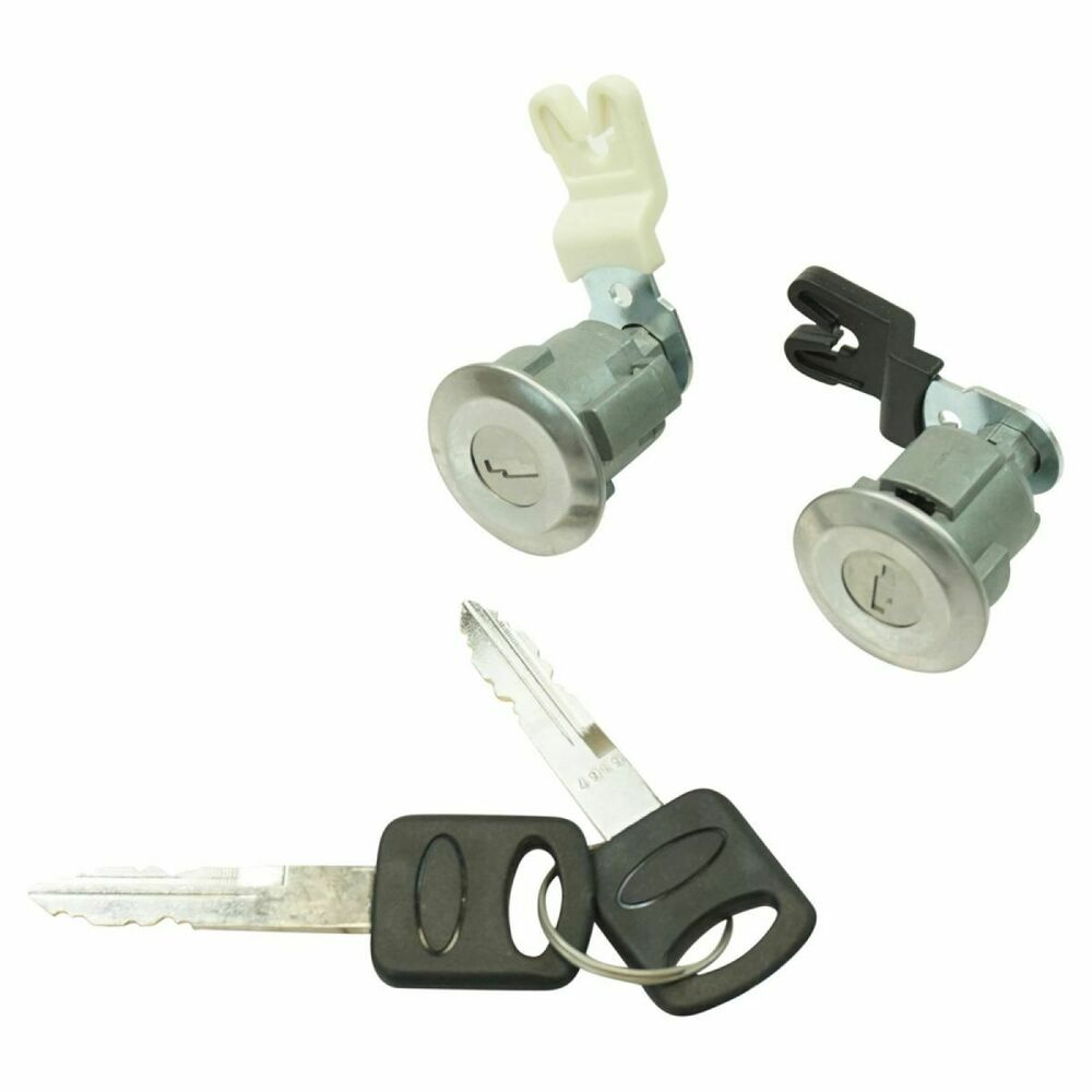 Door Lock Cylinder Amp Keys Set Of 2 For Ford Mercury Mazda