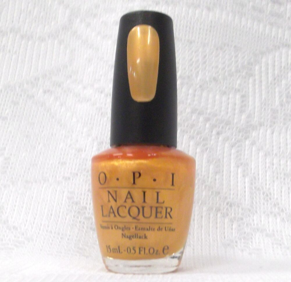 Opi 18k gold nail polish