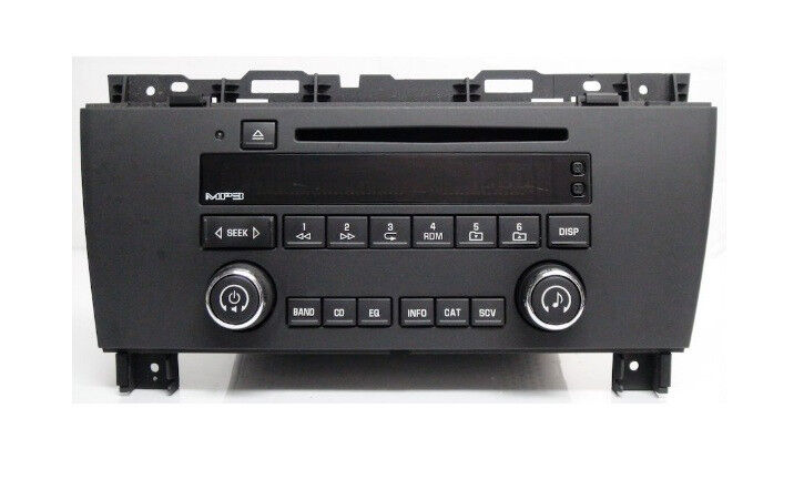 buick lacrosse cd mp3 xm ready radio oem factory delco. Black Bedroom Furniture Sets. Home Design Ideas