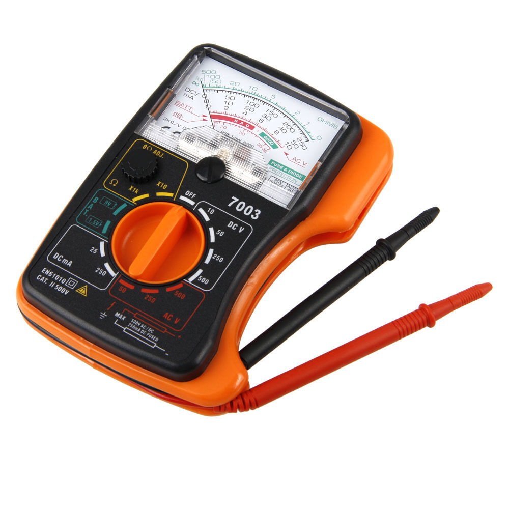 Pocket Clamp Meter : New kti mini pocket analogue clamp multimeter meter