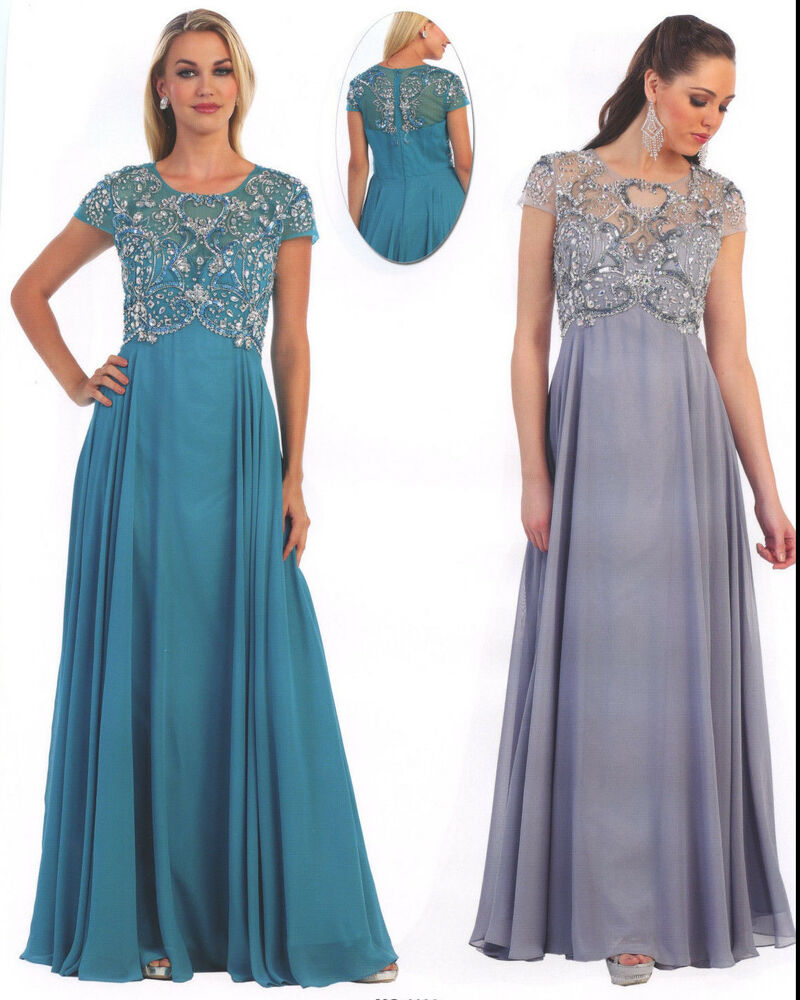 Mother Of The Groom Dress: 5 COLORS FORMAL OCCASION LOVELY MOTHER OF BRIDE / GROOM