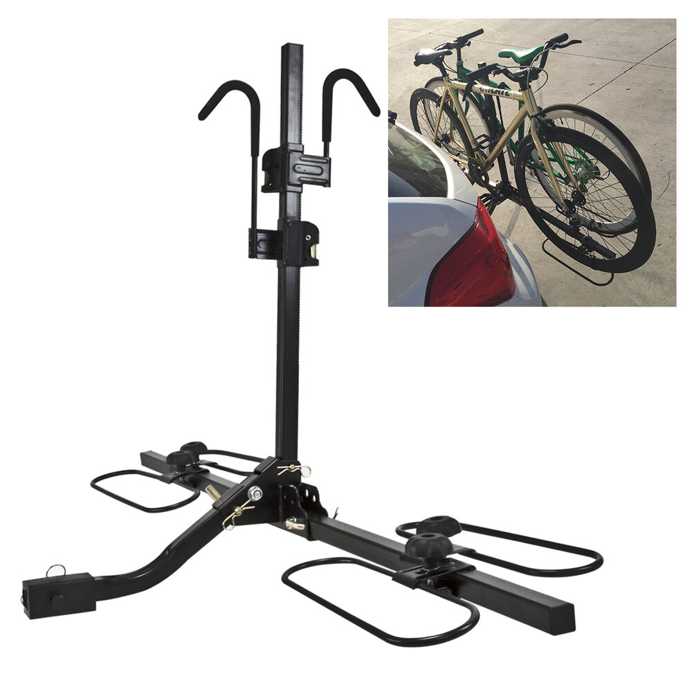 Rear Upright Bike Bicycle Hitch Mount Universal Carrier