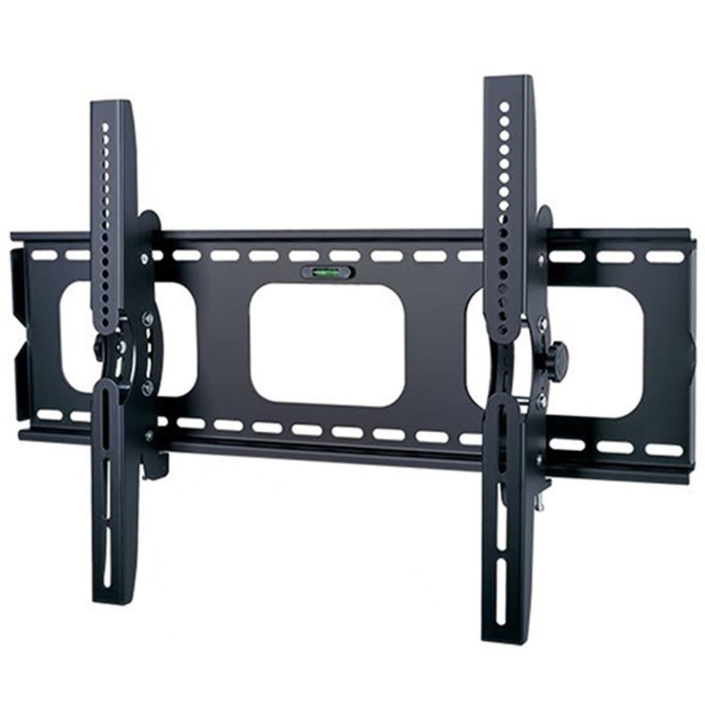 tilt tilting universal wall mount for 30 to 85 led lcd plasma tv bracket vesa ebay. Black Bedroom Furniture Sets. Home Design Ideas
