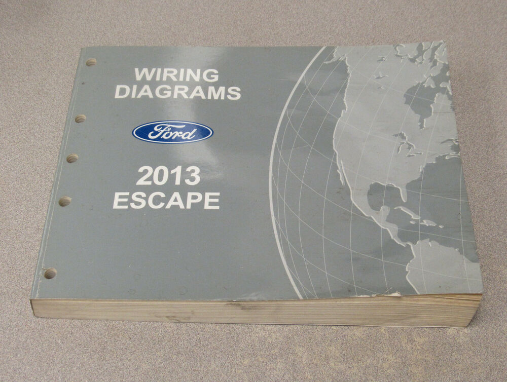2013 Ford Escape Service Wiring Diagram Manual