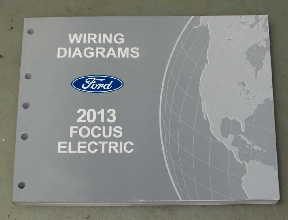 2013 Ford Focus Electric Service Wiring Diagram Manual