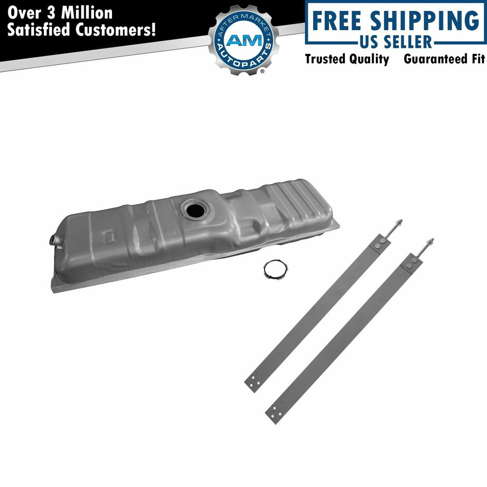 Fuel Gas Tank 20 Gallon With Straps Kit Set For Chevy GMC