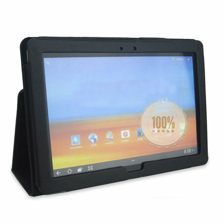 Leather Stand Case Cover for Huawei MediaPad 10 FHD Black  eBay