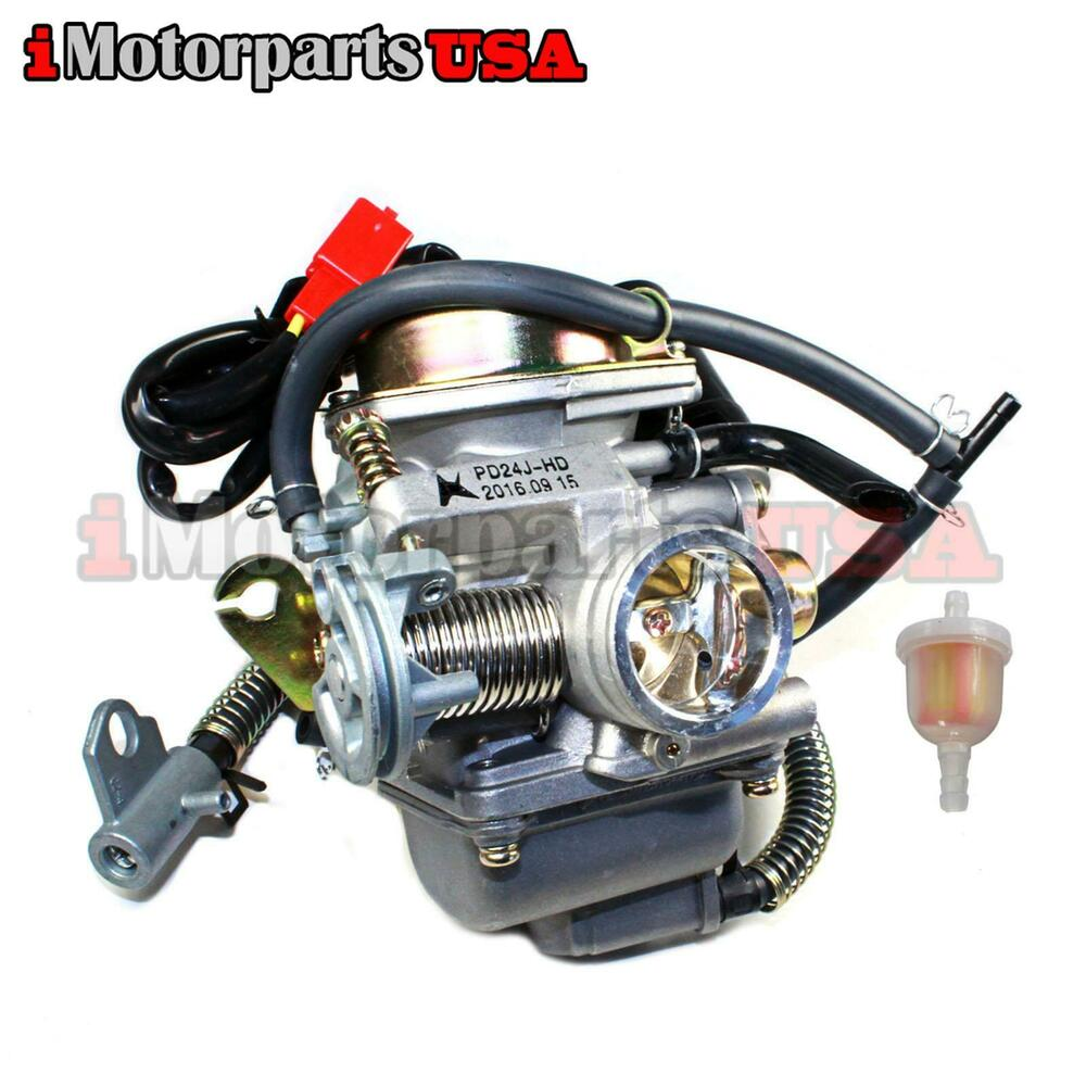 COMPLETE CARBURETOR ASSEMBLY DAZON RAIDER 150 BUGGY GO ...